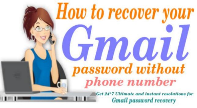 How To Recover my Gmail Account Password Without Using Phone Number